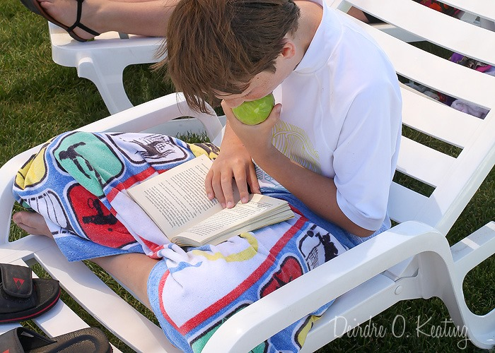 2013 06 11_1371 reading at the pool
