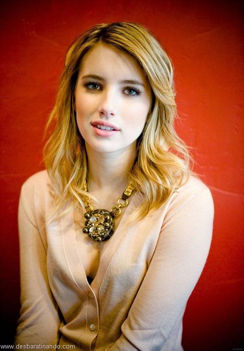 Emma Roberts linda sensual sexy sedutora desbaratinando (149)