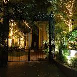 beautiful european based entrance gate in roppongi in Tokyo, Tokyo, Japan
