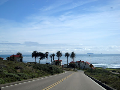 view over the ocean from Point Loma