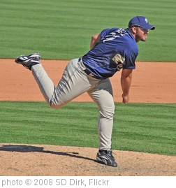 'Heath Bell San Diego Padres' photo (c) 2008, SD Dirk - license: http://creativecommons.org/licenses/by/2.0/