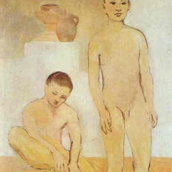 Picasso, 2 Youths 1905
