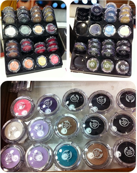 Priscilla beauty blogger The Body Shop Color Crush makeup eyeshadow