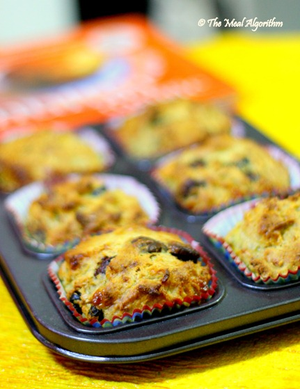 The meal algorithm simplest ever banana muffins this one is an eggless recipe yielding just 6 big muffins just enough to serve as a snack for those mid meal hunger attacks or as breakfast for just a forumfinder Gallery