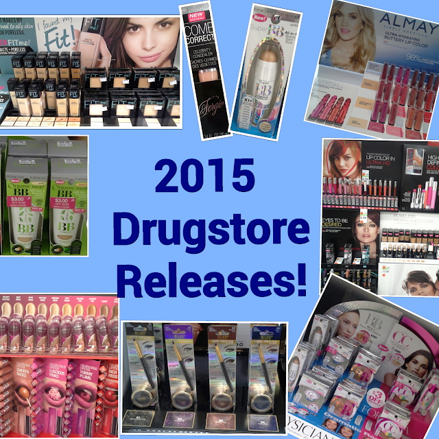 2015 Makeup Collections from Revlon, Rimmel, L'Oreal, Maybelline, Almay, Wet 'n Wild, NYC, Physicians Formula, CoverGirl & MORE!!!