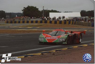 1991 24 HEURES DU MANS #55 Mazda (Mazdaspeed) Volker Weidler (D) - Johnny Herbert (GB) - Bertrand Gachot (F) - res01