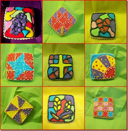 stained-glass-and-quilt-cookies