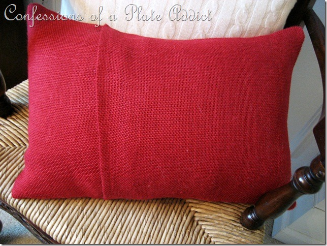 CONFESSIONS OF A PLATE ADDICT Pottery Barn Inspired Valentine Pillow3