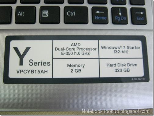 [บันทึกช่าง] การลง Windows บนโน๊ตบุ๊ค SONY Y-Series VPCYB15AH