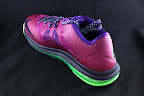 nike lebron 10 low gr purple neon green 5 04 Release Reminder: NIKE LEBRON X LOW Raspberry (579765 601)
