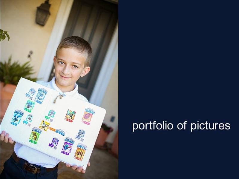 porfolio of pics