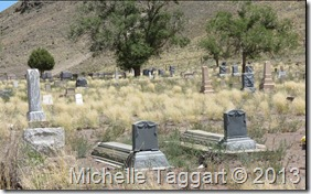 Old Manassa Colorado cemetery