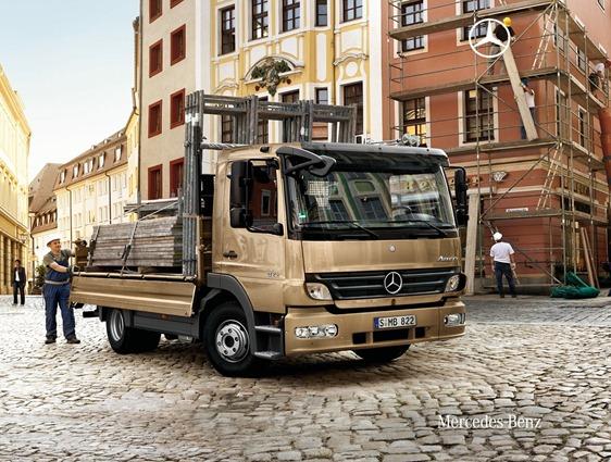 Mercedes Benz Atego Camion 2011