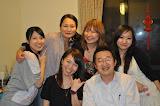 Darrere: Shazhi, Sayaka, Ming Ming, Xiao Wang Davant: Mika, Toshiba
