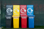 Remember to recycle, the bins are everywhere in Badminton, so please use them.