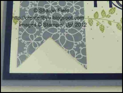 tips for notching designer series paper or ribbon