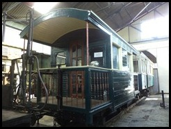 Indonesia, Ambarawa Railway Museum, Loco, Guards Van, 11 January 2011 (1)