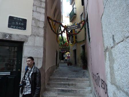 Obiective turistice Lisabona: Alfama, cartierul sarac