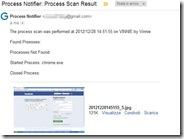 Ricevere notifica email con screenshot quando uno o più programmi vengono avviati o chiusi al PC