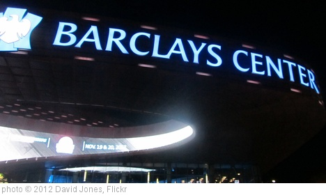 'Barclays Center, Brooklyn' photo (c) 2012, David Jones - license: http://creativecommons.org/licenses/by/2.0/