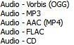 VLC-Audio-formato