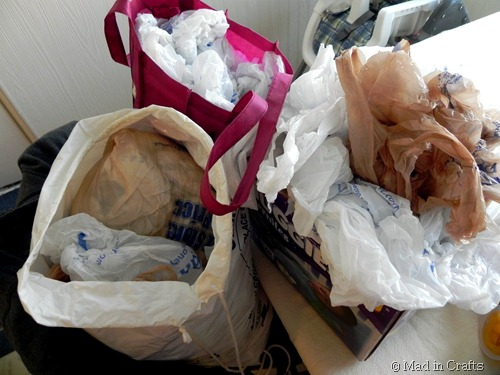 so many plastic bags