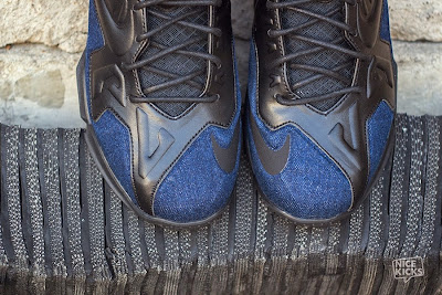 nike lebron 11 nsw sportswear ext denim 5 04 Release Reminder: Nike LeBron XI Ext Denim QS