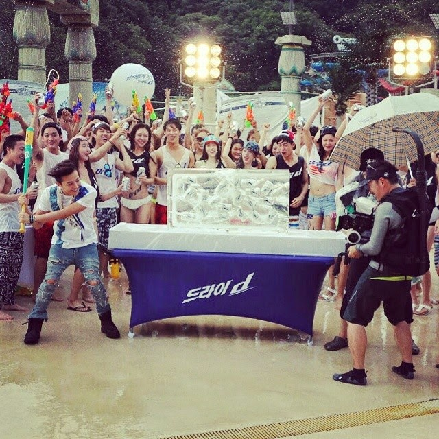 G-Dragon - Hite - 2014 - Ocean World - 04jul2014 - Fan - Kj_tiger - 01.jpg
