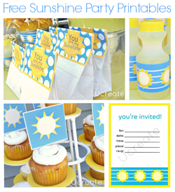 Sunshine-Party-Free-Printables