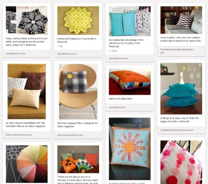Pillow Ideas on Pinterest