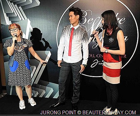 Jurong Point Bespoke Styling service stylists Lionnel Lim, Jen Su