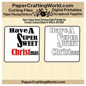have a super christmas wdart ppr-350