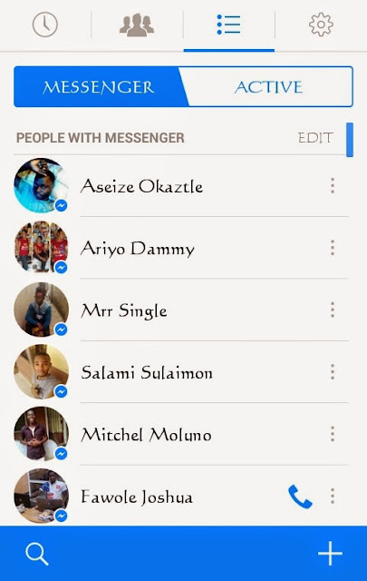 facebook messenger-techblogng