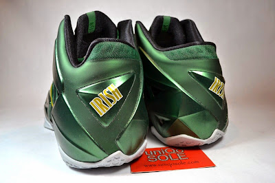 nike lebron 11 pe svsm away 5 07 Nike LeBron 11   SVSM Away   Detailed Look
