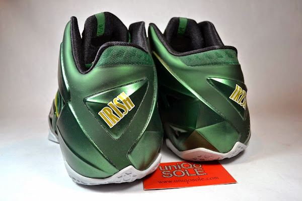 Nike LeBron 11 8211 SVSM Away 8211 Detailed Look