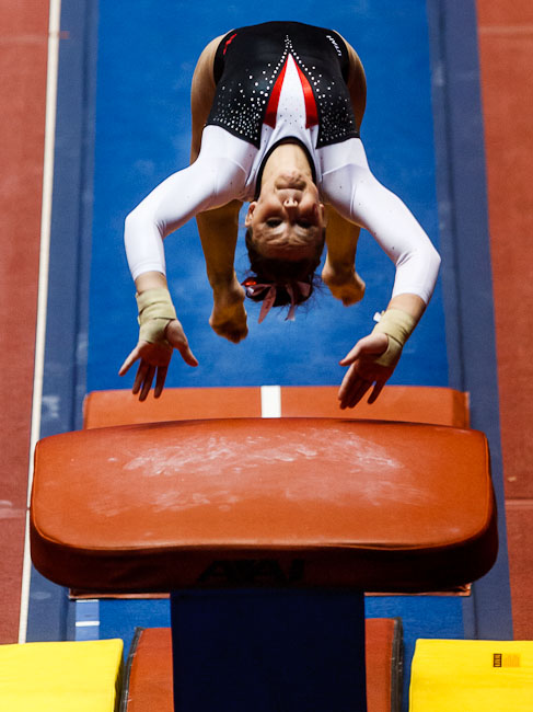 Stephanie McAllister on vault