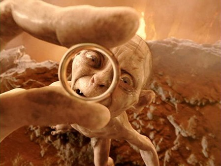 Gollum-Ring-mount-doom