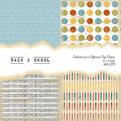 Back 2 Skool Front Sheet