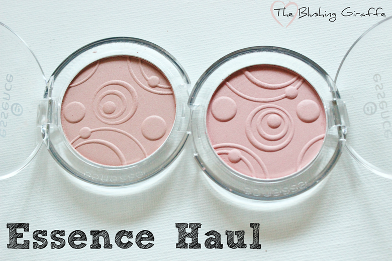 essence haul 2014 UK the blushing giraffe