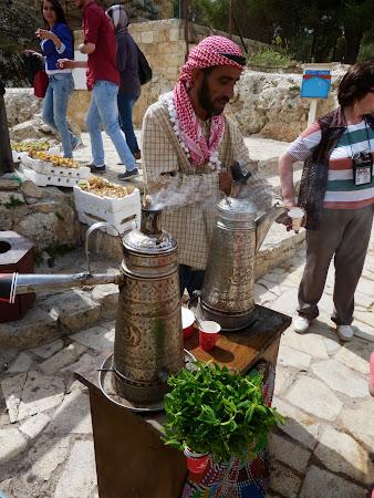 Cetatea Ajloun: Vanzatorul de cafea