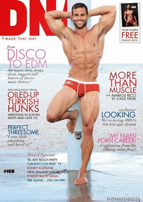 DNA magazine Australia cover December 2013 Markus Ricci