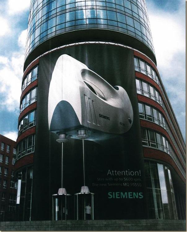Publicités sur immeubles-siemens