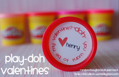 Play-doh Valentine Printable from Random Thoughts of a Supermom