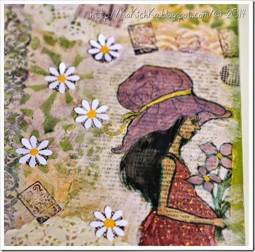 The East wind digi stamp