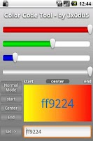 Screenshot of Color Code Tool