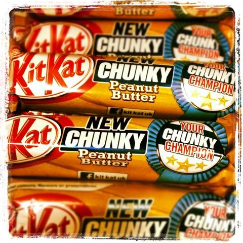 #256 - peanut butter KitKat
