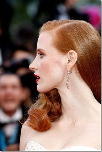 Jessica Chastain at Cannes Film Festival 2012