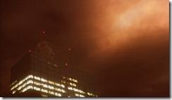Gamera 3 Gyaos in Sky