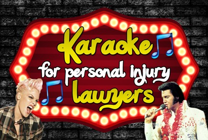 karaoke for lawyers