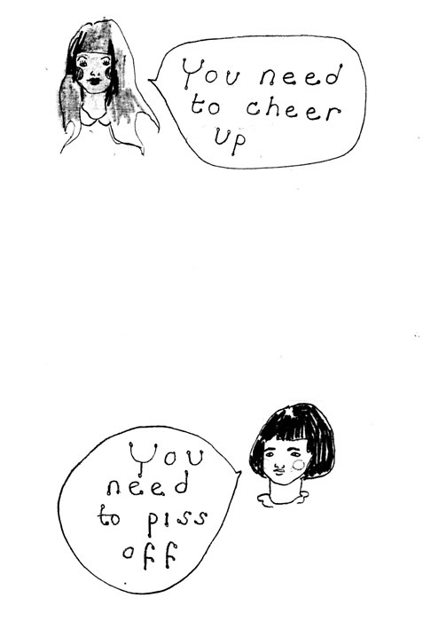 you need to cheer up